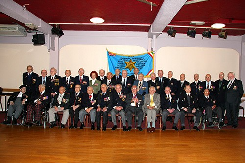 32 veterans who attended the reunion weekend, just prior to the gala dinner.